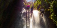 Rappel en Cataratas